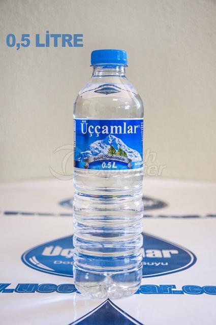 مياه ينابيع الطبيعية  0.5 لتر