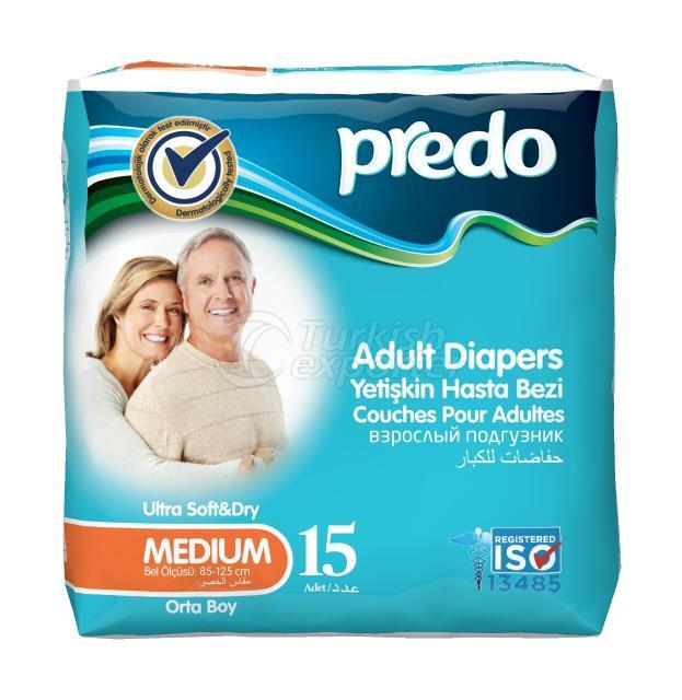 Adult Diaper Predo Medium