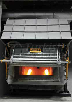 holding and melting furnace