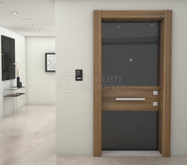 Steel Door  -VIP 204 LABE