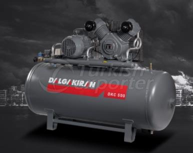 Reciprocating Compressors Single And Double Stage Series