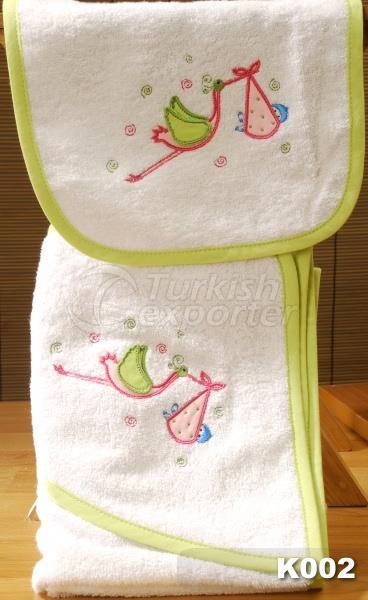 Bebek Havlu Takımı K002