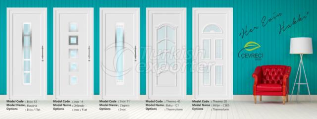 Thermoform PVC Door Panels