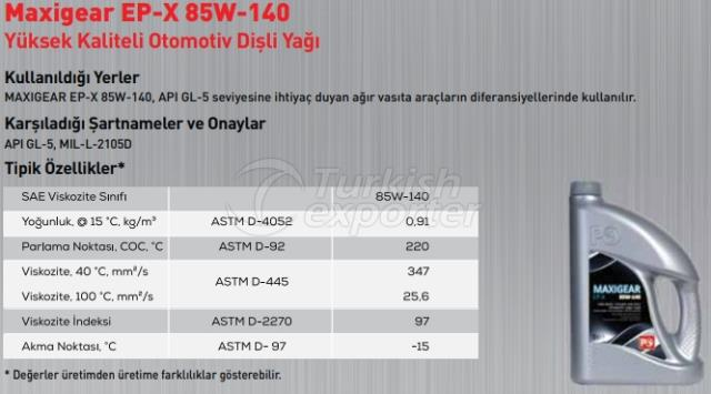 Maxigear Ep-X 85W-140