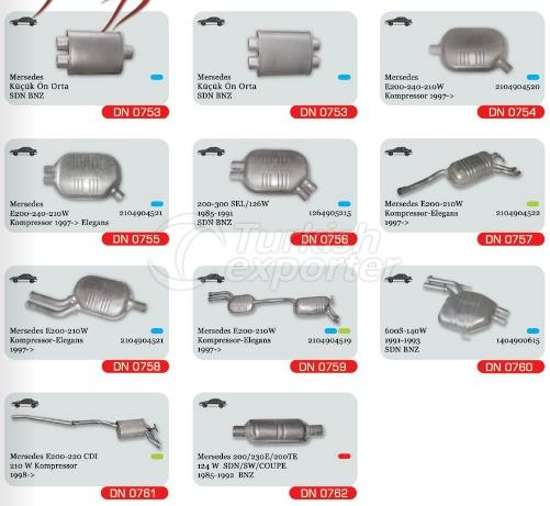 Exhaust For Mercedes