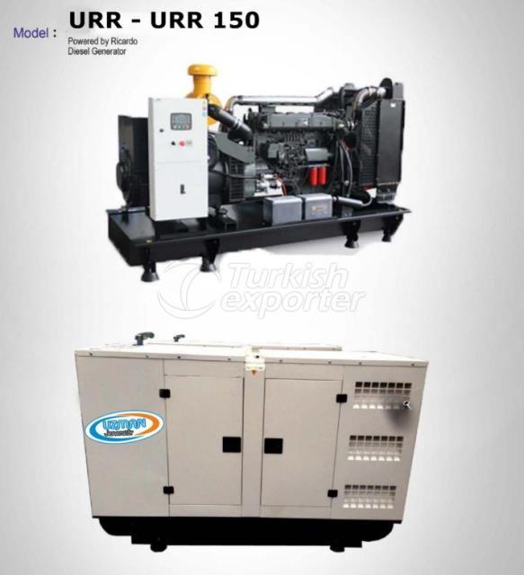 Diesel Generator - URR - URR 150
