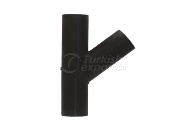 HDPE Segmented Y Type Fork T