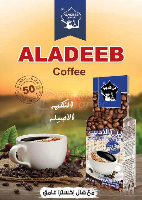 ALADEEB COFFEE WITH CARDAMOM DARK