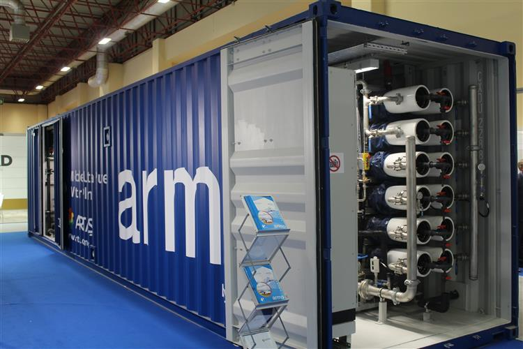 armo® Mobile Ultra Pure Water Plant