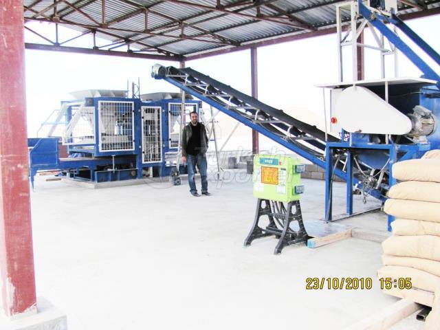 Manual Concrete Parquet Briquette Plant