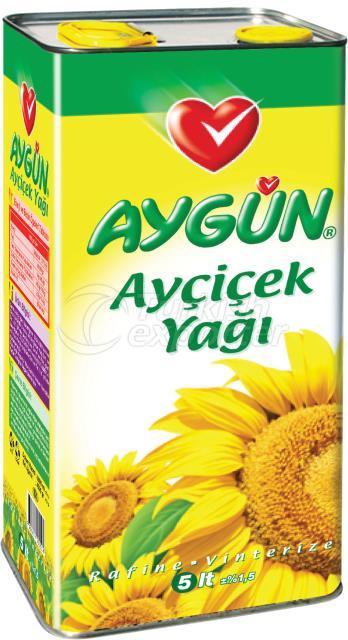05 Lt Tin Refined Sunflower Oil