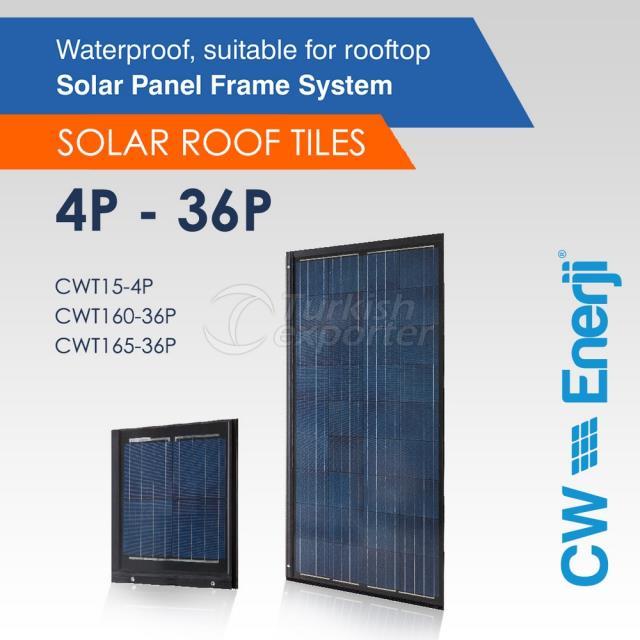 CWT Solar Roof Tile 4P-36P