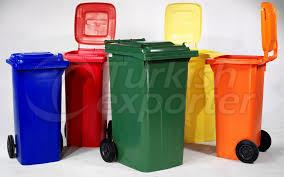 garbage containers