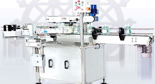 Double Sided Bottle Self Labeling Machine