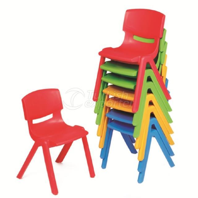 Chaise en plastique incassable USY012