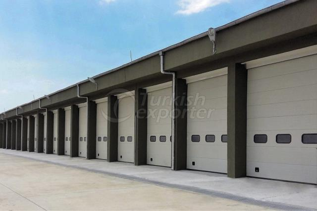 Industrial Construction Doors