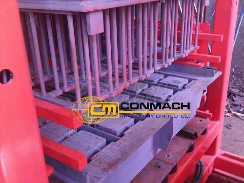 Concrete Block-Interlock Machine