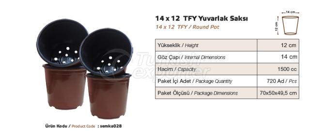 Pot Rond 14x12