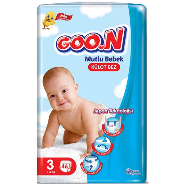 Goon panty baby diaper no:3 46 pieces