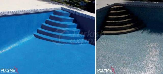 Tinta de isolamento para piscinas