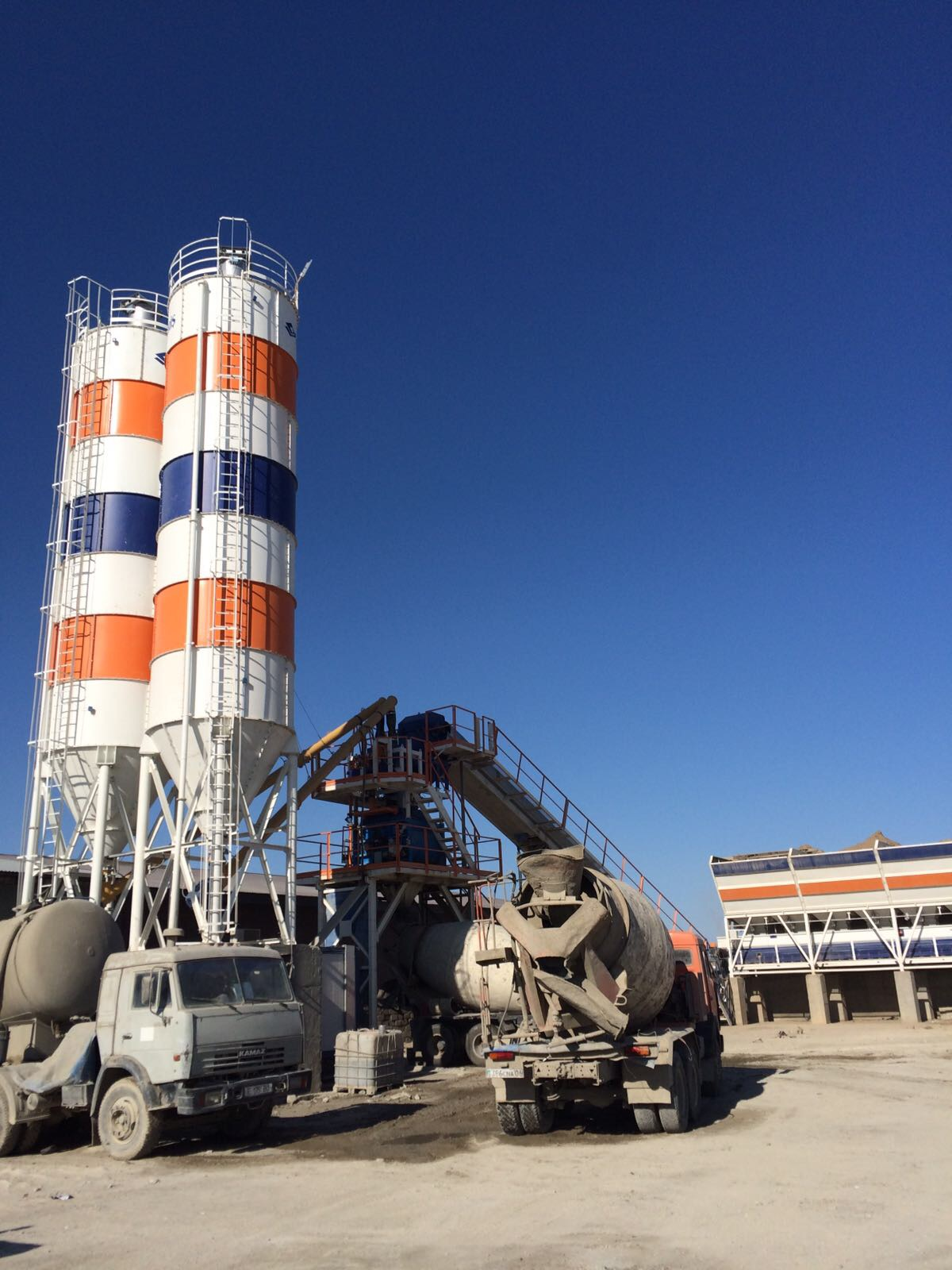 STATIONARY CONCRETE BATCHING PLANT 60M3/H