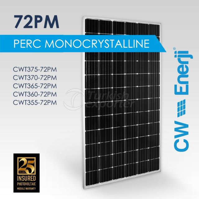 CWT Perc Monocrystalline 72PM 355-375 Wp