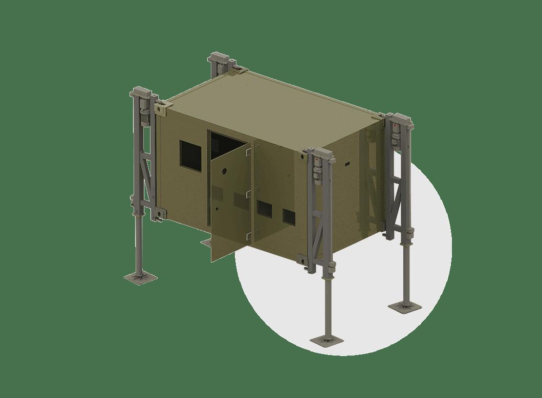 Shelter Leveling System _2_