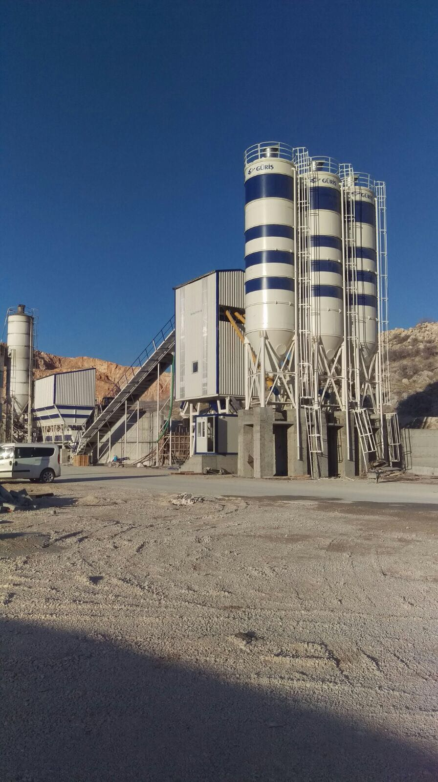 STATIONARY CONCRETE BATCHING PLANT 130M3/H