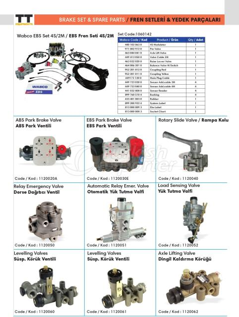 Brake Sets and Spare Parts