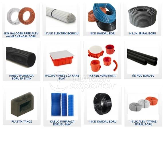 plastic electrical wiring materials