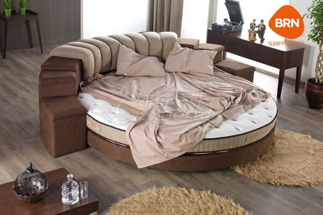 Round Bed Sets Olimpos