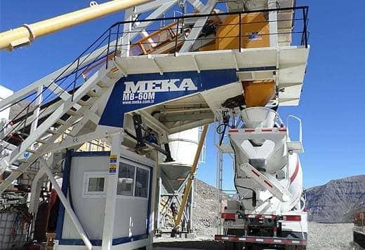 MB-60M Mobile Concrete Batching Plants