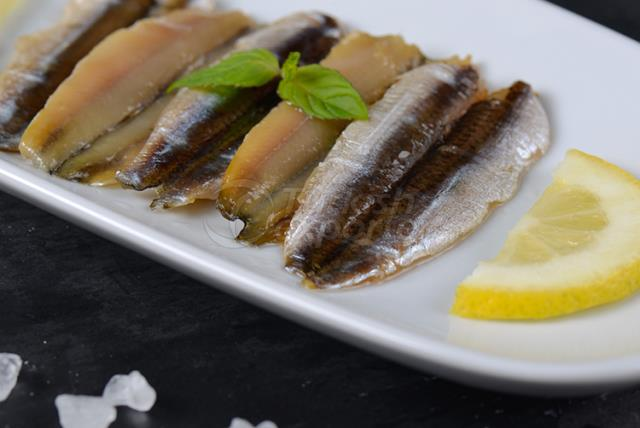 Cold Smoked Anchovy Fillet