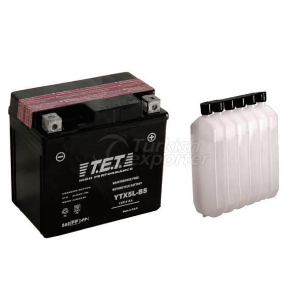 Motorcycle Batteries TET