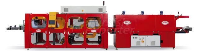 Wrapping Type 0.5-1.5Lt Double Line Shrink Machine
