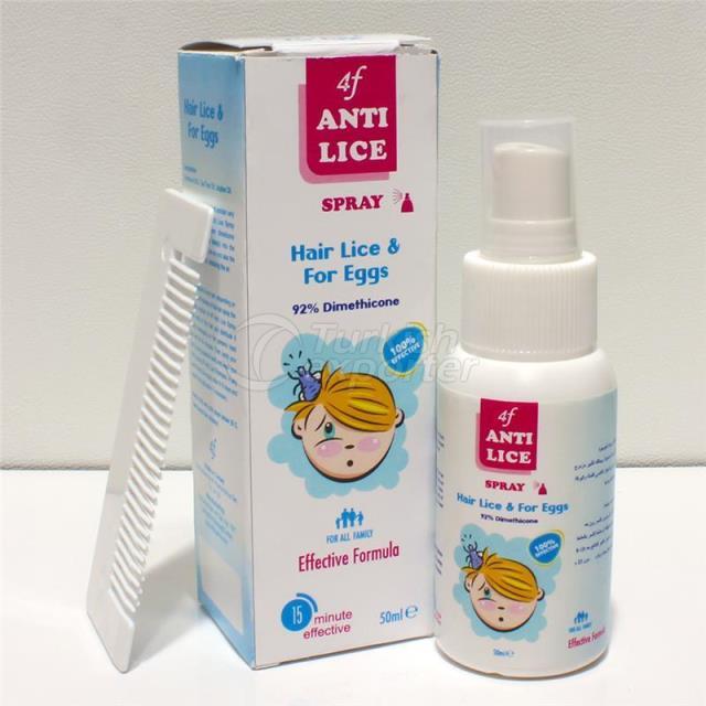 Anti Lice Spray 50 ML