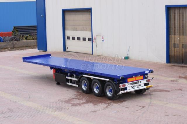 Flatbed Semi Trailer For 2.48 Width