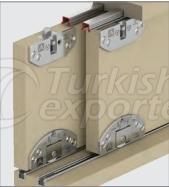 Adjustable Sliding Door System M03 6000