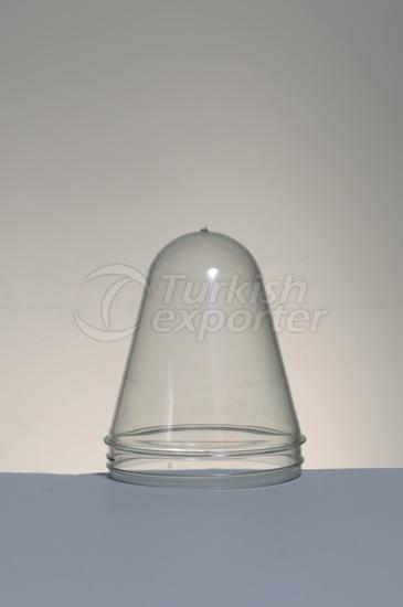 Bocal en plastique préformé 135 grammes