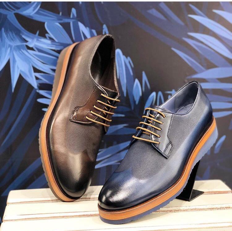Classic leather eva shoes