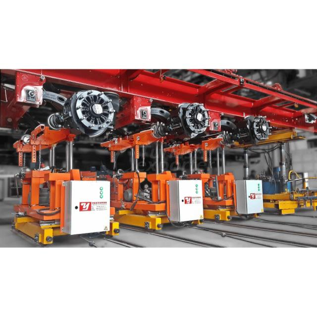 Axle And Tire Lifting Machines