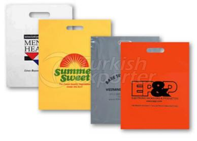 Recortar -Pacth Handle Carrier Bags