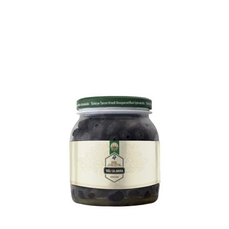 Natural Back Olive Oily Brine