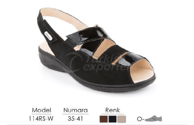 Diabetic-Orthopedic Sandals 114RS-W