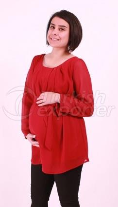 Maternity Wear Pastel Color Siphon Tunic