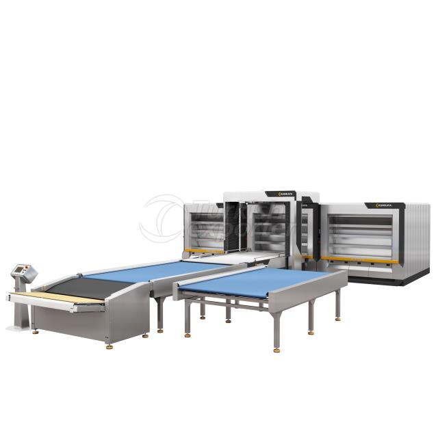 Automatic Steam Tube Oven   4 Deck