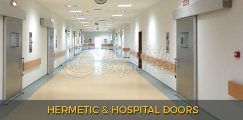 Hermetic And Hospital Doors
