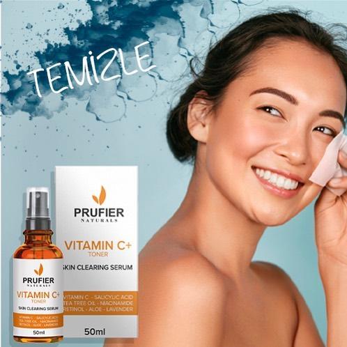 Prufier Naturals Vitamin C Toner