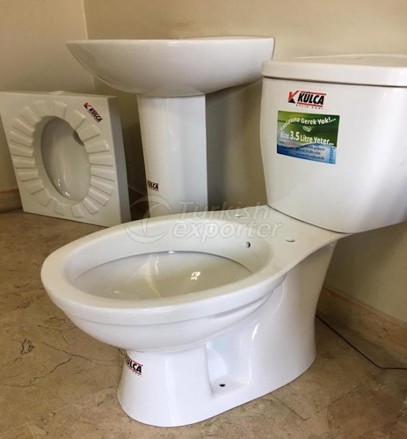 toilet bathroom sink