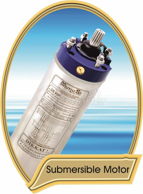 4 pole submersible motor